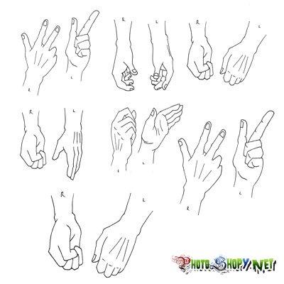 Язык жестов.