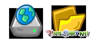 Иконки на папки и файлы