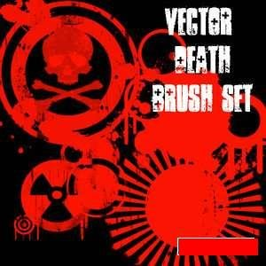 vector death brushes
