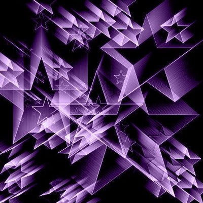 Кисти - 3D звезды.