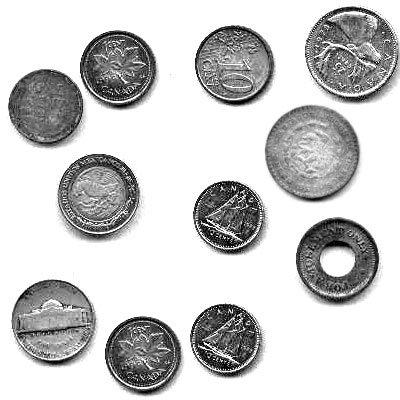 Кисти -  монетки