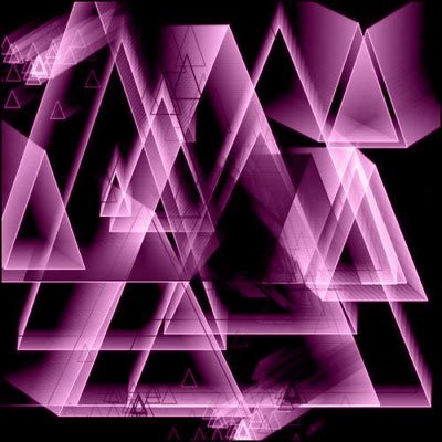 Кисти - 3D треугольники