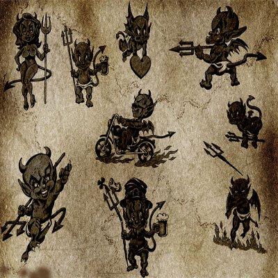 Кисти - демоны