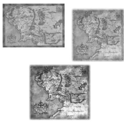 Кисти - Старинные карты
