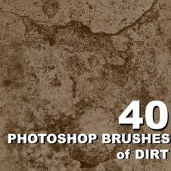 Кисти для Photoshop  Brushes of Dirt