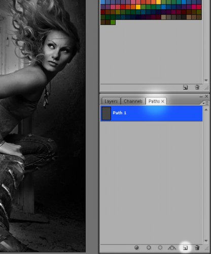 Урок Photoshop- Огненные линии