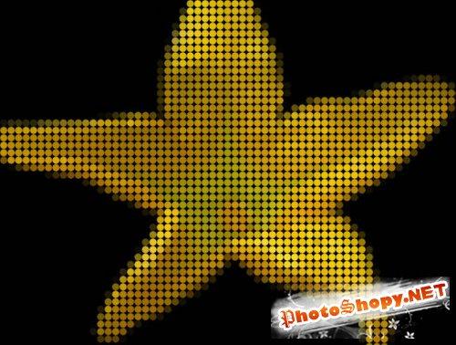 Видео урок фотошоп - Эффект мозайки