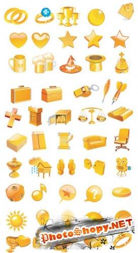 Иконки - Позолоченные иконки