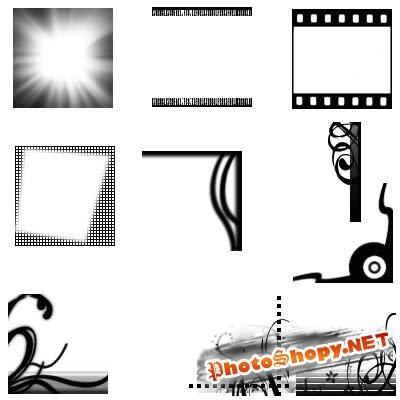 Кисти для фотошоп - Рамки для аватар