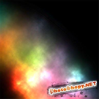 Видео урок фотошоп - Разноцветный дым
