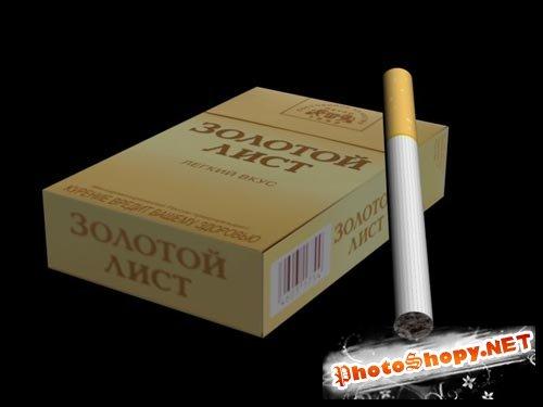 3D модели - Пачка сигарет