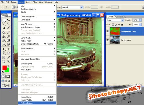 Уроки фотошоп - Состаривания фотографий