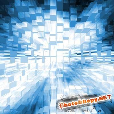 Видео урок фотошоп - 3D кубики