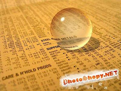 Фотошоп уроки - Стеклянный шарик