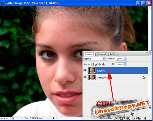 Уроки PhotoShop - Ретуширование фото