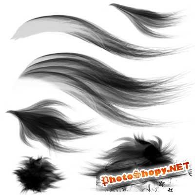 Кисти для фотошоп волосы
