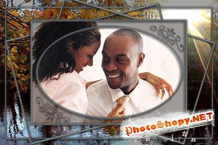 Рамки для фотошопа - Влюблённые
