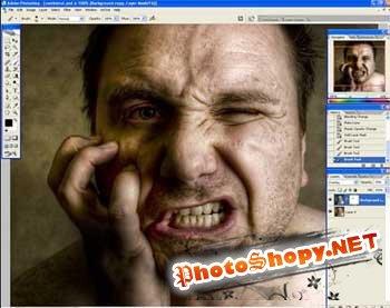 Halloween Photoshop урок : Создаём зомби