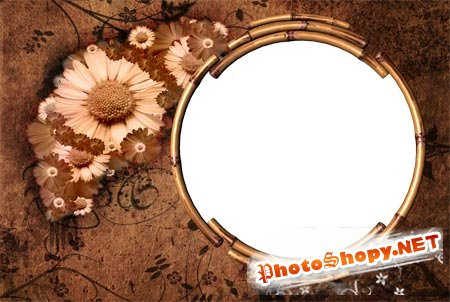Рамка для фото - Сепия