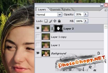 Ретуширование фотографий в фотошопе