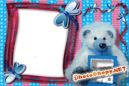 Рамка для фото - Медвежонок