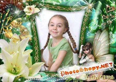 Рамки для фотошоп – Волшебные