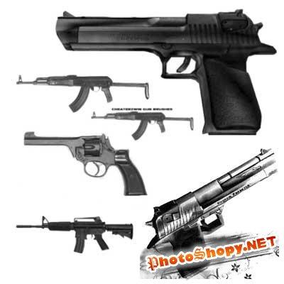 Кисти для фотошоп - Оружие