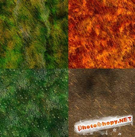 Текстуры для фотошопа - Разнообразия