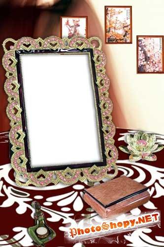 Рамка для фото - На столе