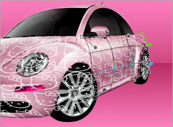 Дикорация автомобиля в фотошопе
