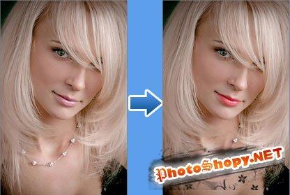 Видео уроки фотошопа - Смена цвета губ