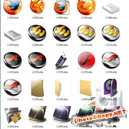 Иконки для вашего стола