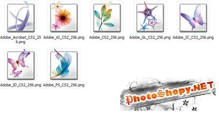 Иконки Adobe