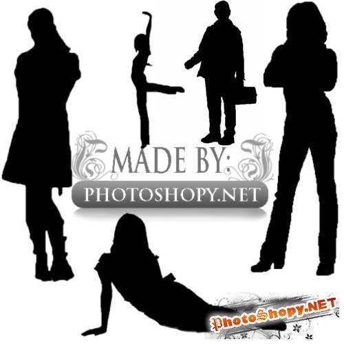 Кисти для фотошопа - Люди