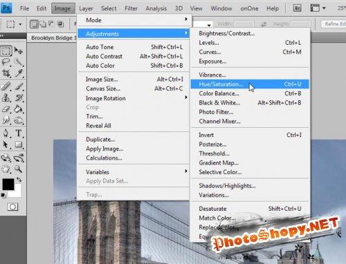 Как создать простой коллаж в Фотошоп