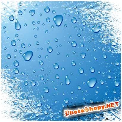 Клипарты - Капли воды