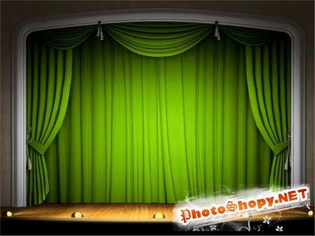 Клипарты - Театр
