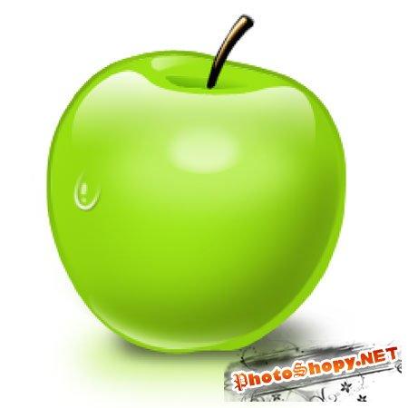 PSD исходник - Apple