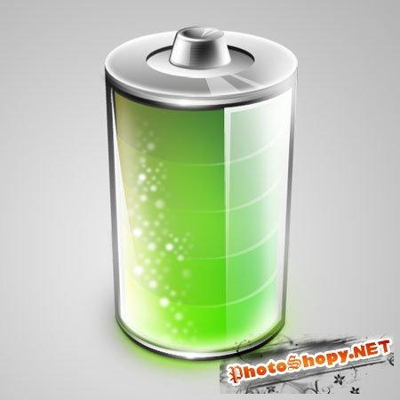 PSD исходник - Батарея
