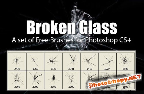 Creating Broken Glass Effect Brushes