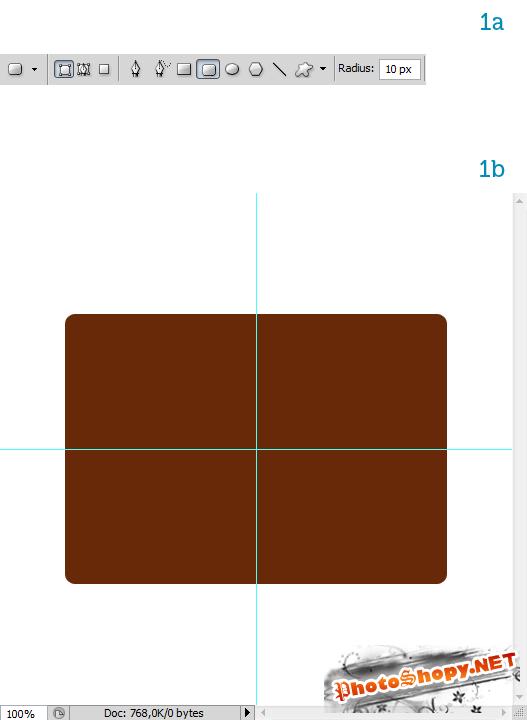Создание портфеля с нуля в фотошопе