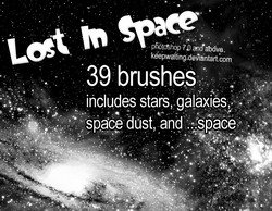 Lost In Space Brushes - PS7+