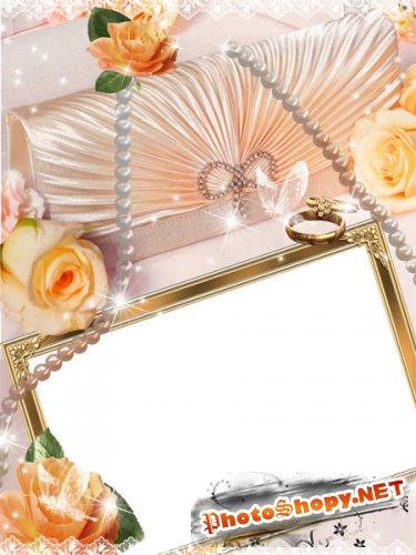 Рамка для фото - Роскошная свадьба