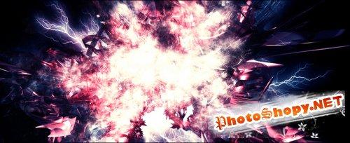 Абстрактные кисти для Фотошопа