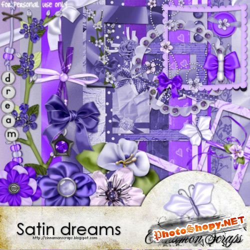 Скрап-набор – Satin dreams