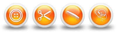 3d-glossy-orange-orb-icon-people-things