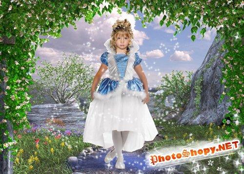 Шаблон для девочек- Маленькая фея