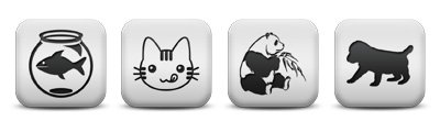 matte-white-square-icon-animals