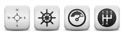 matte-white-square-icon-transport-travel