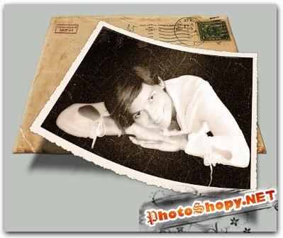 Экшены для фотошопа - Vintage Photo